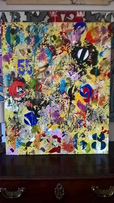 Le blog artistique de bruno lecuyer for Art contemporain abstrait