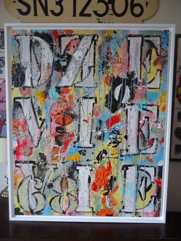 peinture abstraite bruno lecuyer bretagne france