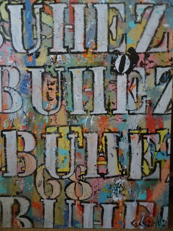 art abstrait bretagne france