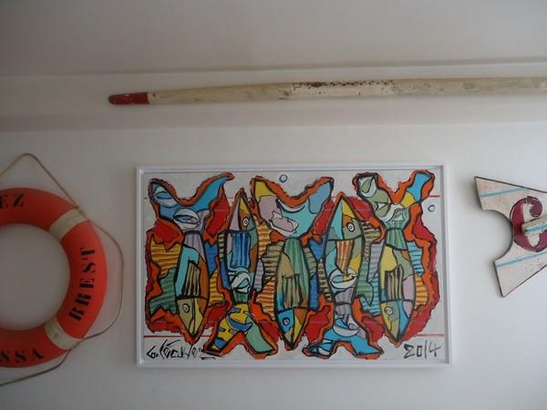 poissons bretons peintures bretonnes