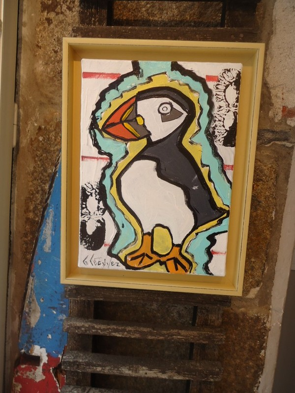 macareux bruno lecuyer artiste peintre