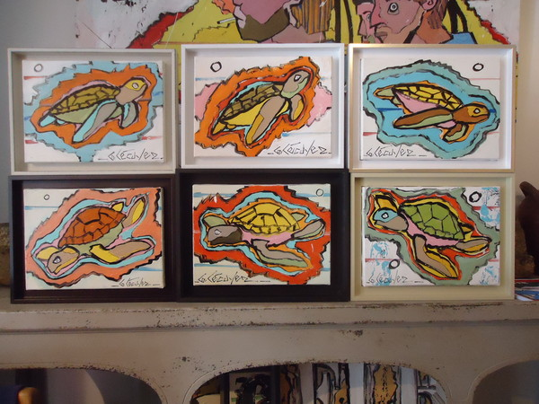 peintures tortues