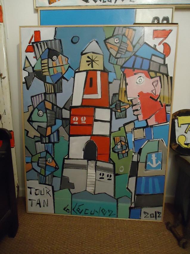 bruno lecuyer peintre moderne breton. Black Bedroom Furniture Sets. Home Design Ideas