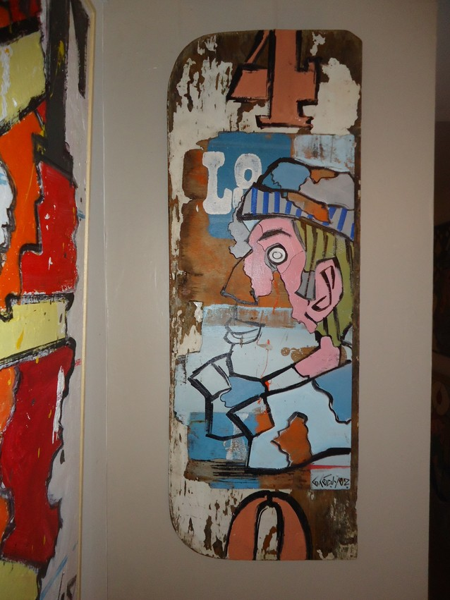 Bois flottes peinture for Peinture bois flotte