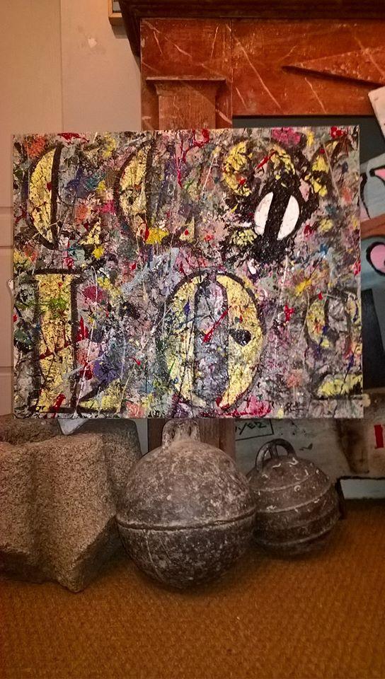 Art abstrait bruno lecuyer artiste peintre bretagne france for Galerie art abstrait